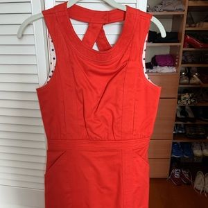 Marc by Marc Jacobs short dress in red/orange